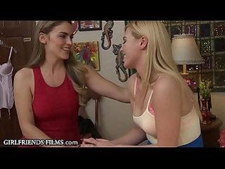 Girlfriendsfilms college lesbian seduced by sorority president