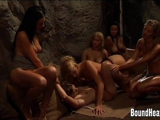 Mistress Enjoys In Good Pussy Eating By Lesbian Slave