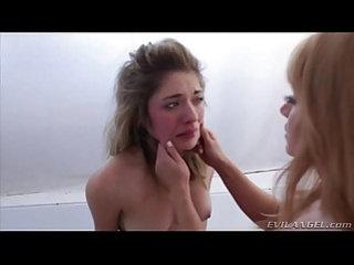 Mistress Licks Her Slaves Tears